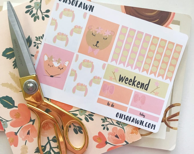 Woodland Friend Sticker Kit