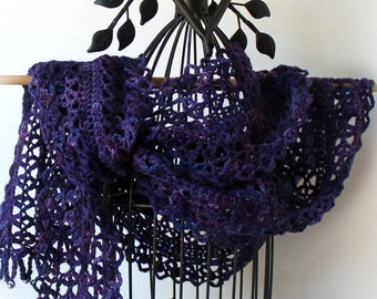 Nacogdoches Night Scarf Crochet Lace Scarf Women's Accessories