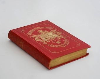French old book, Vintage books decor, Les Petites Filles Modeles La Comtesse de Segur 1909.