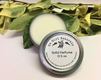 Rock Star TYPE Solid Perfume, Natural Perfume, Perfume, Perfume Balm, Handmade