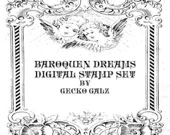 Baroquen Dreams Digital Stamp Set.....SALE