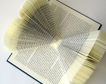 "ON SALE!! Book Sculpture ""Infinite"" - Altered Book - Book Arts"