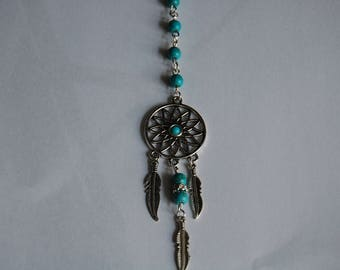 dream catcher , rear view car mirror chain