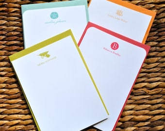 Personalized note cards - set of 10
