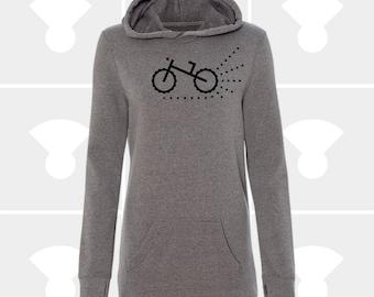 Mountain Bike - Sweatshirt Dress