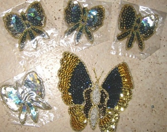 CUSTOMIZATION - SET OF 5 BUTTERFLY CHARMS