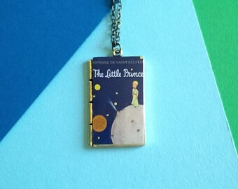 necklace book / necklace the little prince / cover the little prince