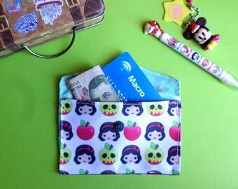 Cute Snow White Card Holder Mini Coin Purse Wallet
