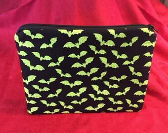 Bats zip pouch