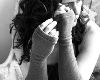 GIFT CERTIFICATE Fingerless Gloves, fingerless mittens, gift for her, Cashmere Arm Warmers, cashmere gift, cashmere fingerless gloves, gift