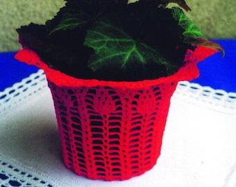 Pot Holder, Crochet Pattern, PDF Download, GERMAN only!