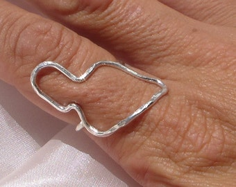 Sterling Silver Maui Ring