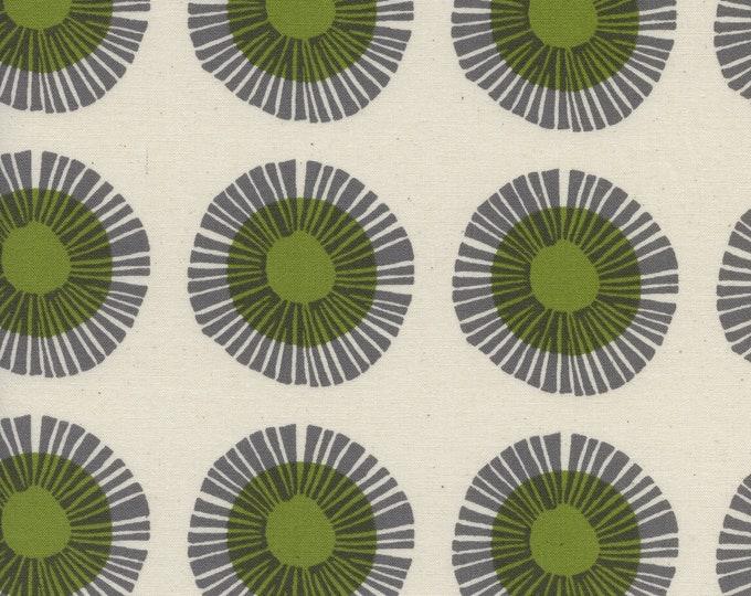 PRESALE: Seaside Daisy in Sage (cotton) from Imagined Landscapes by Jen Hewett for Cotton + Steel