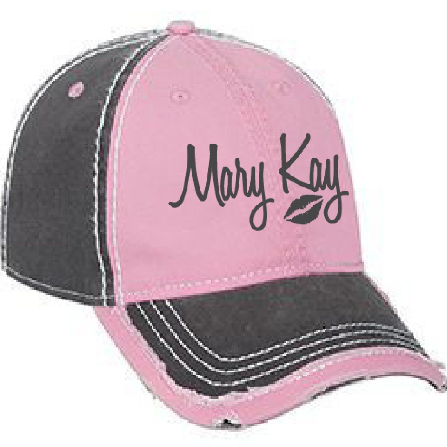 Embroidered Mary Kay Hat Mary Kay Hat Pink Mary Kay Hat