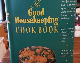 1944 Good Housekeeping Cookbook with DUST COVER