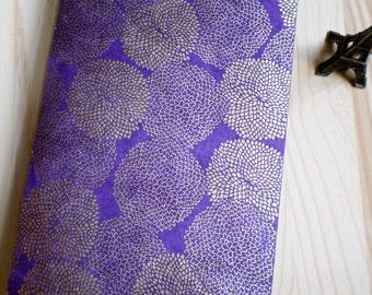 Purple Mums - Personalized Address Book