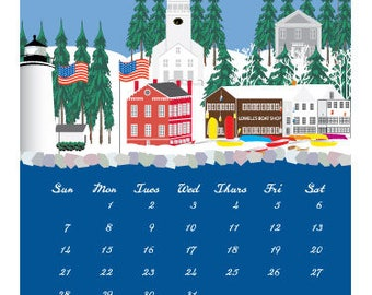 2018 Newburyport Wall Calendar