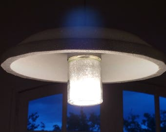 Upcycled lamp: Unidentified bright object