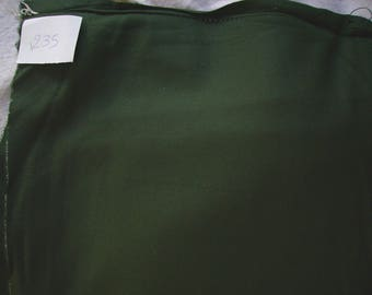 NO. 235-FABRIC MADE OF WOOL FLEECE-COLOR GREEN
