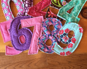 Fabric Numbers!