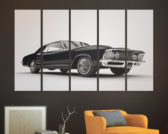 Muscle car canvas Muscle car wall art Vintage car canvas art Muscle car print canvas wall art Classic car canvas Muscle car art canvas