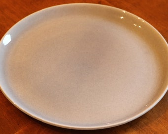 """Russel Wright by Steubenville (USA) """"American Modern"""" - Single Dinner Plate in Granite Gray"""