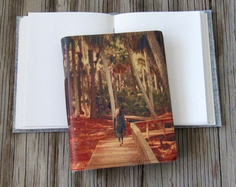 lost in thought journal - diary notebook gift under 20, by tremundo