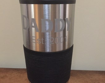 Customizable Double Wall Stainless Steel Tumbler