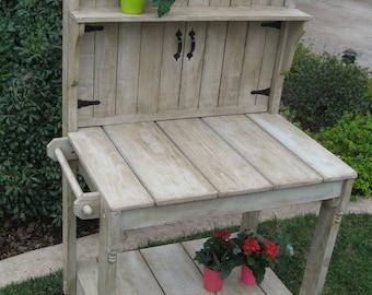 potting bench etsy