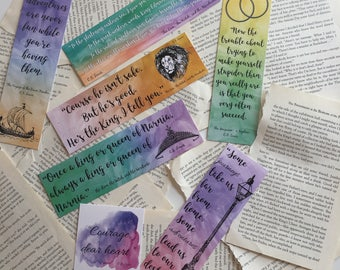 Narnia Set 1 Bookmarks