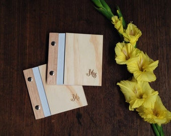 Ready to Ship. Wedding Vows Book. Wood. Custom Engraved Keepsake. Anniversary Gift