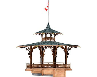 Bandstand, Vancouver - Collectible Print