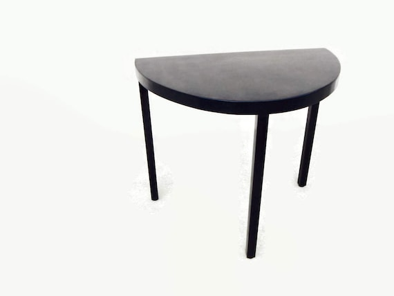 Great Half Moon Table Industrial Style Metal Table Table With