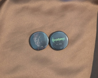 """Goosebumps 1"""" Buttons - Pack of 2 - Slappy"""