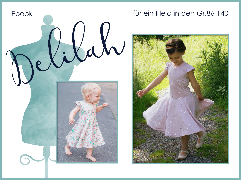 Ebook Delilah / Schnittmuster Kleid