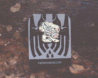 Liar - artist series lapel enamel pin