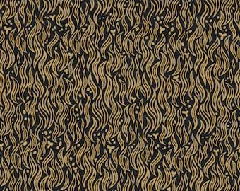 Coupon 87x137cm Liberty tana lawn Wild cats fabric