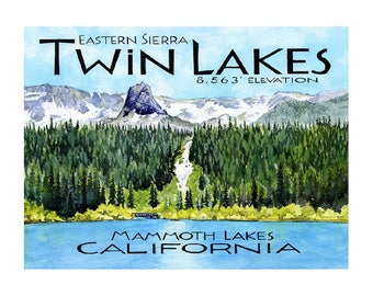 Mammoth Lakes Etsy