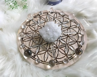 20cm The Amplifier and All Purpose Complete Set of Crystal Grid