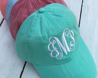 Monogrammed Cap, Monogrammed hat, Monogram Hat, Monogram Cap, Monogram Gift, Preppy Hat, Bridesmaid Gift, Graduation Gift, Birthday gift