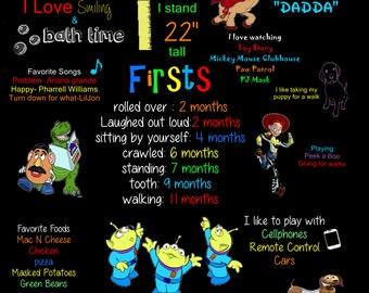 Toy Story Birthday Board