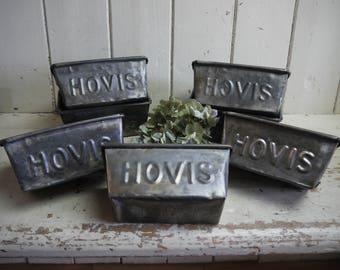 Salvaged Vintage Hovis Loaf Tin - Circa 1950s - Loaf Pan - Vintage Loaf Tin - Baking Tin - Vintage Loaf Pan - Baking Pan - Hovis Loaf Tin