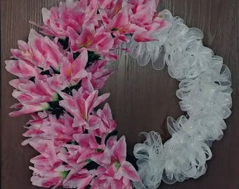 Tiger Lilly Wreath
