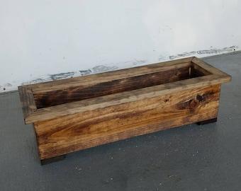 """24""""  Planter Box. Garden Planter. Centerpiece."""