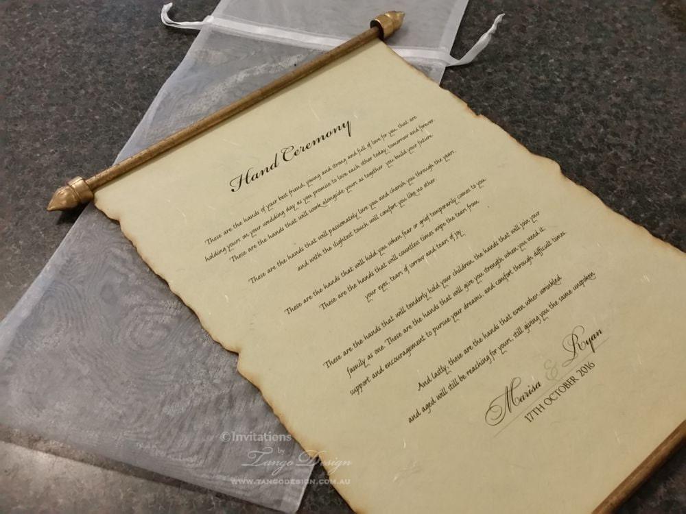 Unique Wedding Invitations. RUSTIC Wedding FAN Programs or