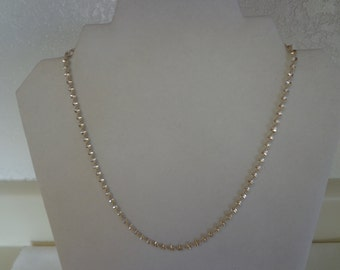 Vintage Stunning .925 Sterling Silver Chain Necklace