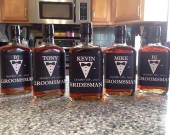 Customizable liquor labels