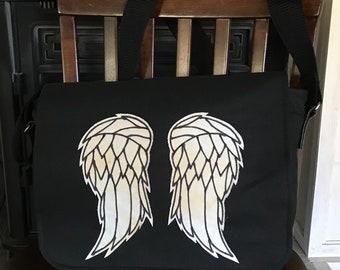 The Walking Dead Daryl Dixon Angel Wings Messenger Bag