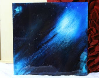 Acrylic pour, Abstract fluid art, Abstract painting, Resin Art, Acrylic painting, Epoxy Resin Painting, Fluid art, Night sky painting