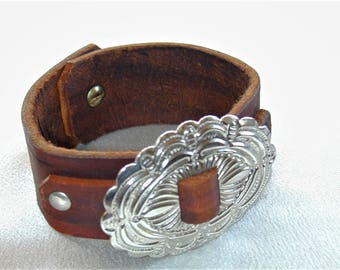 Leather Wrist Band